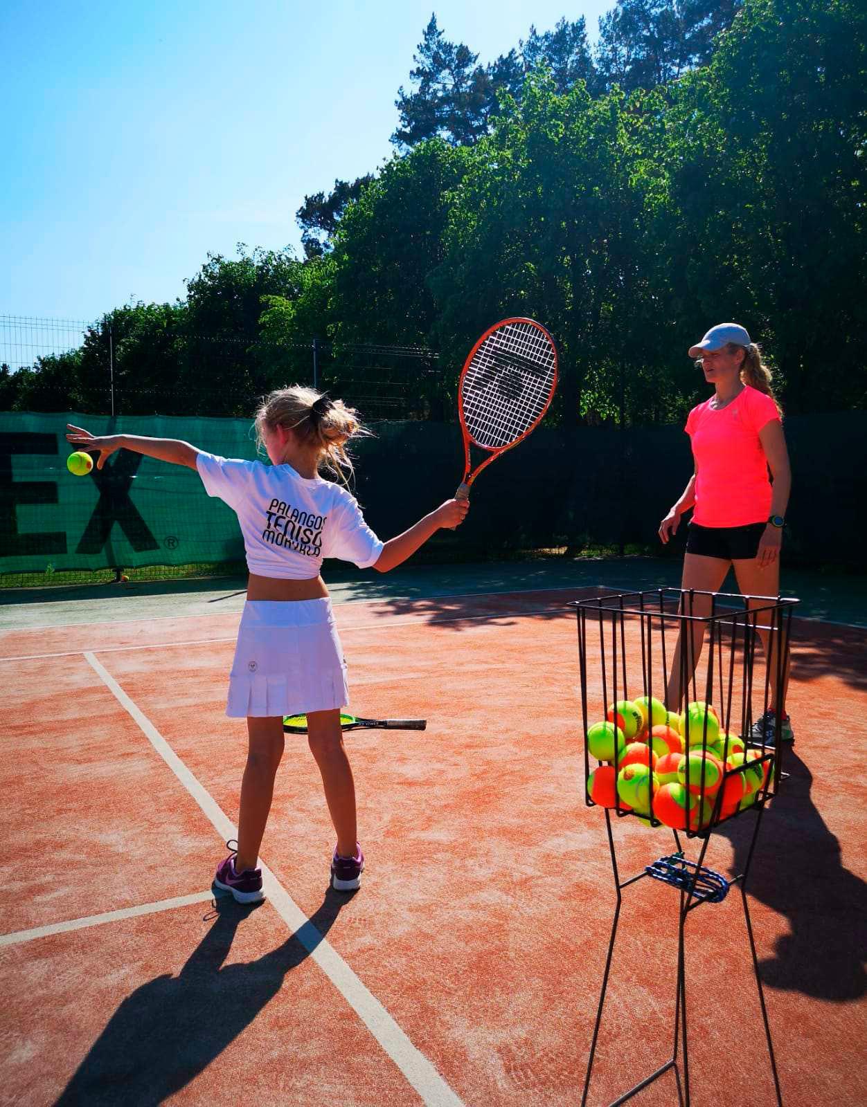 Treniruote Palanga tennis