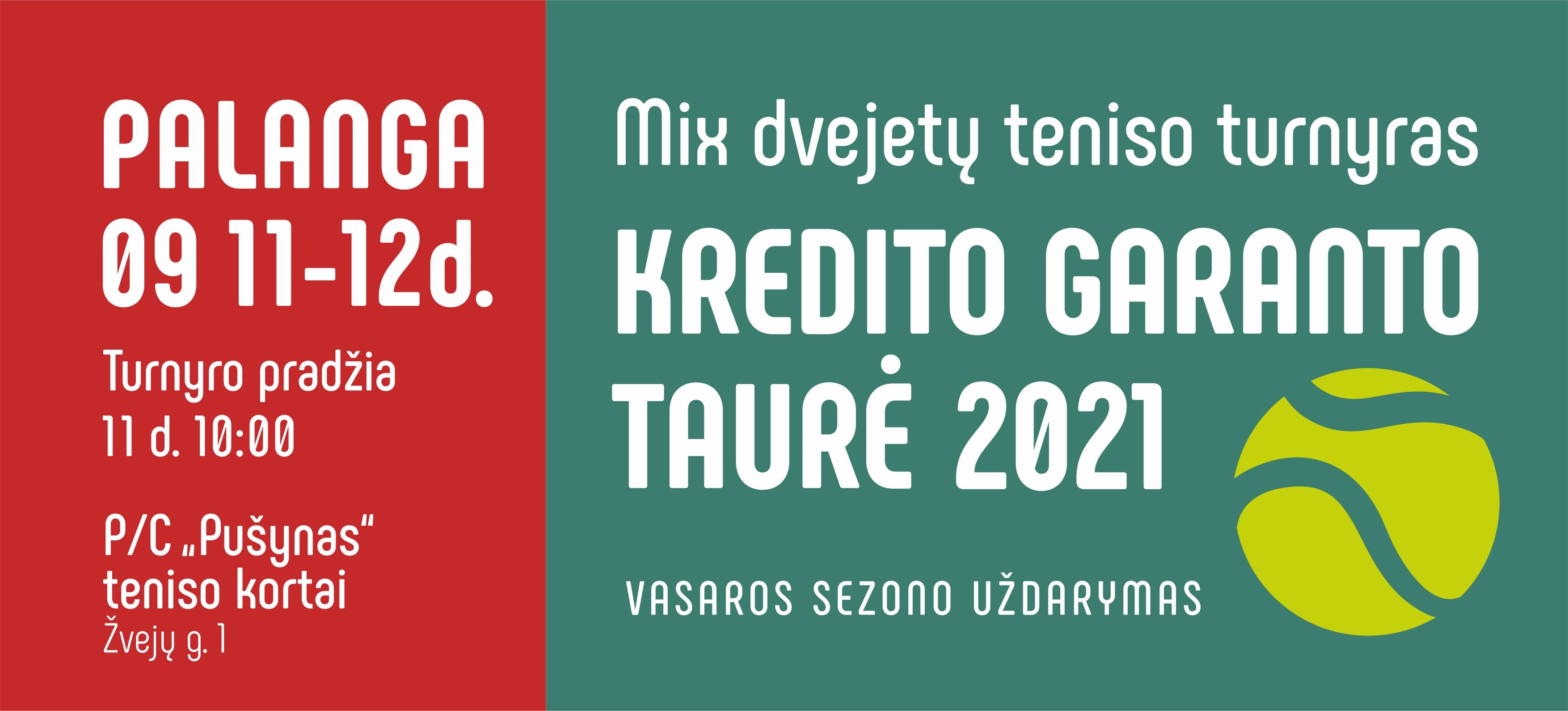 Kredito garanto taure 2021_baneris